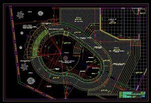 دانلود پروژه طراحی نقشه و پلان پارک (فضای سبز) و استخر خصوصی مدرن لاکچری لوکس