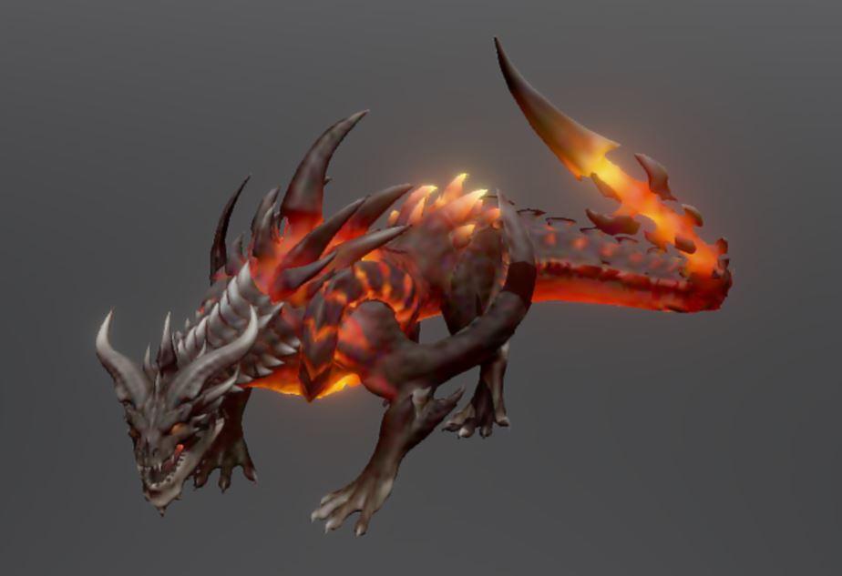 دانلود پروژه طراحی کاراکتر اژدها آتشین