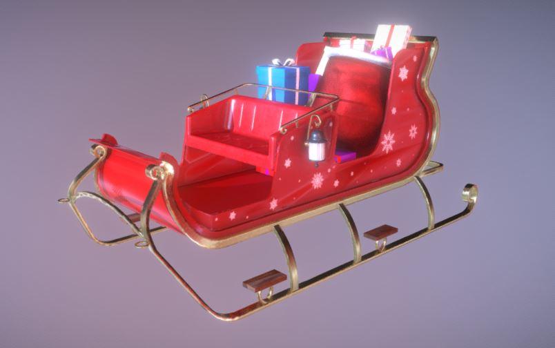 دانلود پروژه طراحی کالسکه بابانوئل
