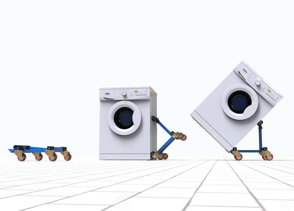 طراحی چرخ حمل بار خانگی