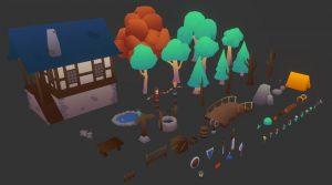 دانلود پروژه طراحی اجزا مزرعه فانتزی لوپولی