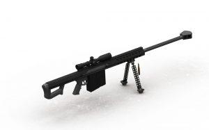دانلود پروژه طراحی اسلحه تک تیرانداز بارت ام۸۲