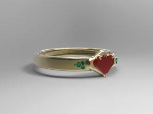 دانلود پروژه طراحی انگشتر قلبی (5)