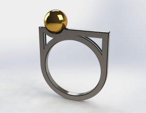 دانلود پروژه طراحی انگشتر مدرن 3