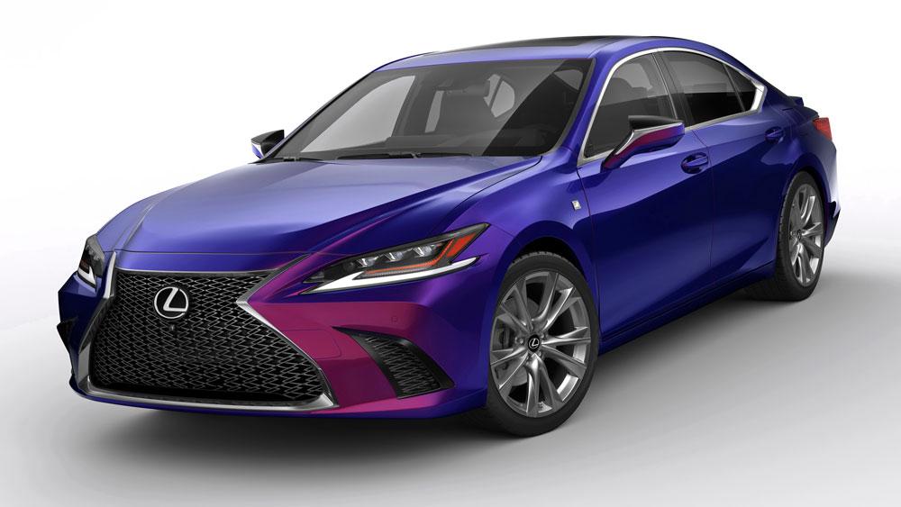دانلود پروژه طراحی خودرو لکسوس ای اس اف اسپرت 2019 (1)