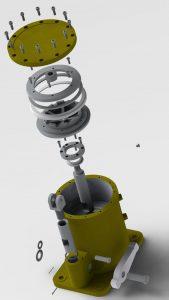 دانلود پروژه طراحی درایو پنوماتیک