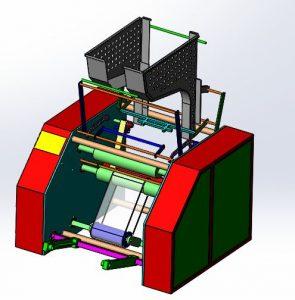 دانلود پروژه طراحی دستگاه بسته بندی کششی