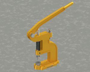 دانلود پروژه طراحی دستگاه پانچ دستی (پرس دکمه)