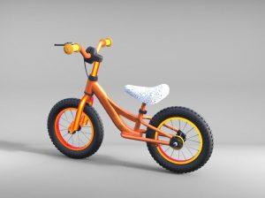 دانلود پروژه طراحی دوچرخه بدون زنجیر و رکاب بچه گانه