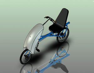 دانلود پروژه طراحی دوچرخه مفهومی ایزی رایدر