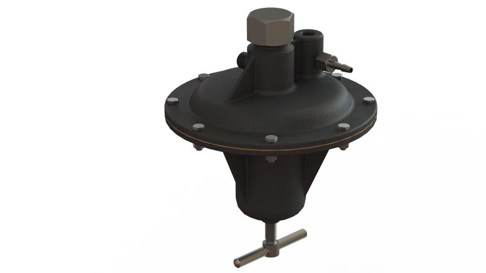 دانلود پروژه طراحی رگولاتور فشار گاز (1)