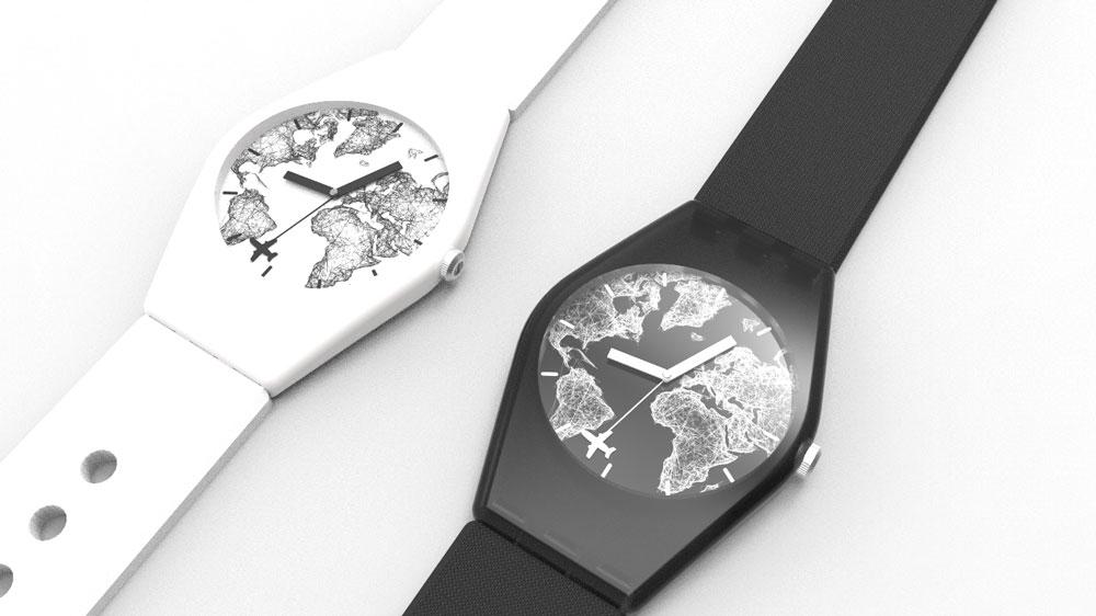 دانلود پروژه طراحی ساعت مچی