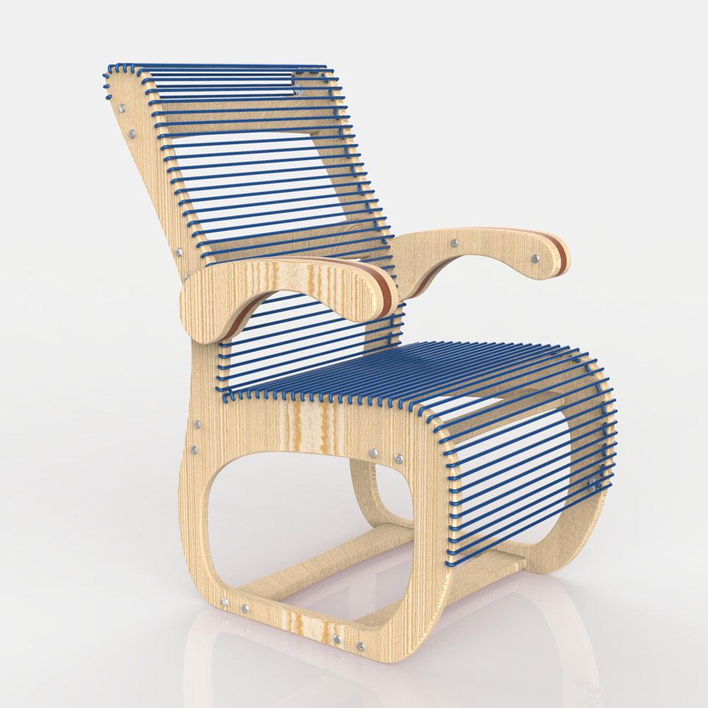 دانلود پروژه طراحی صندلی راحتی مدرن
