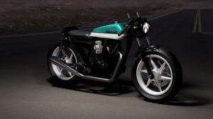 دانلود پروژه طراحی موتورسیکلت هوندا کافه ریسر GL 100