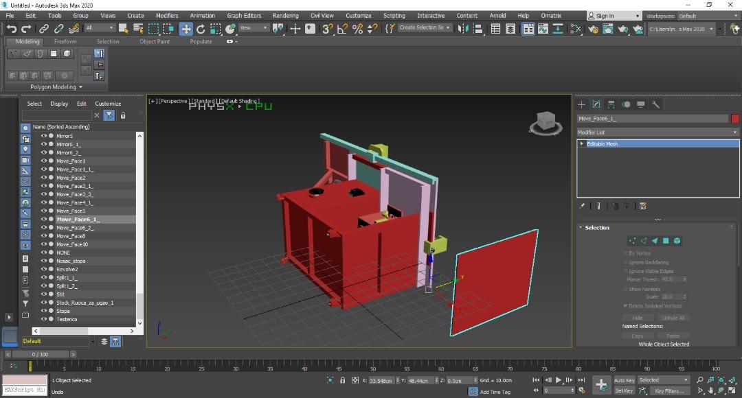 دانلود پروژه طراحی میز برش نجاری 2