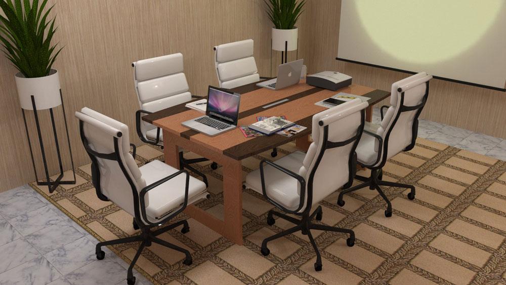 دانلود پروژه طراحی میز و صندلی اداری