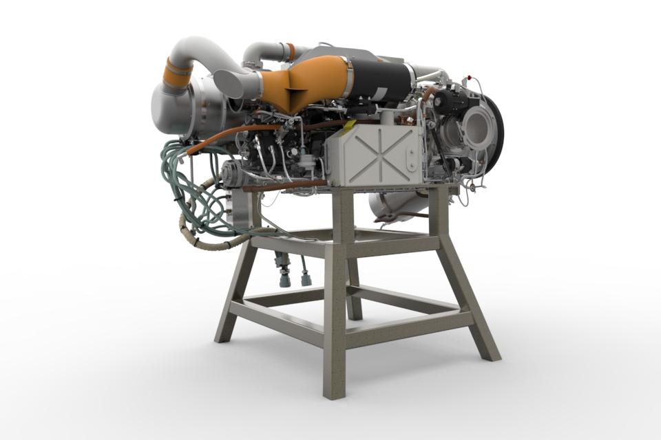 دانلود پروژه طراحی میکرو توربین گازی GTCP85 (1)