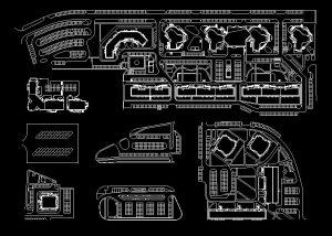 دانلود پروژه طراحی نقشه و پلان انواع پارکینگ عمومی ماشین (1)