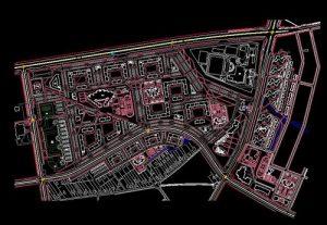 دانلود پروژه طراحی نقشه و پلان شهر مدرن (2)