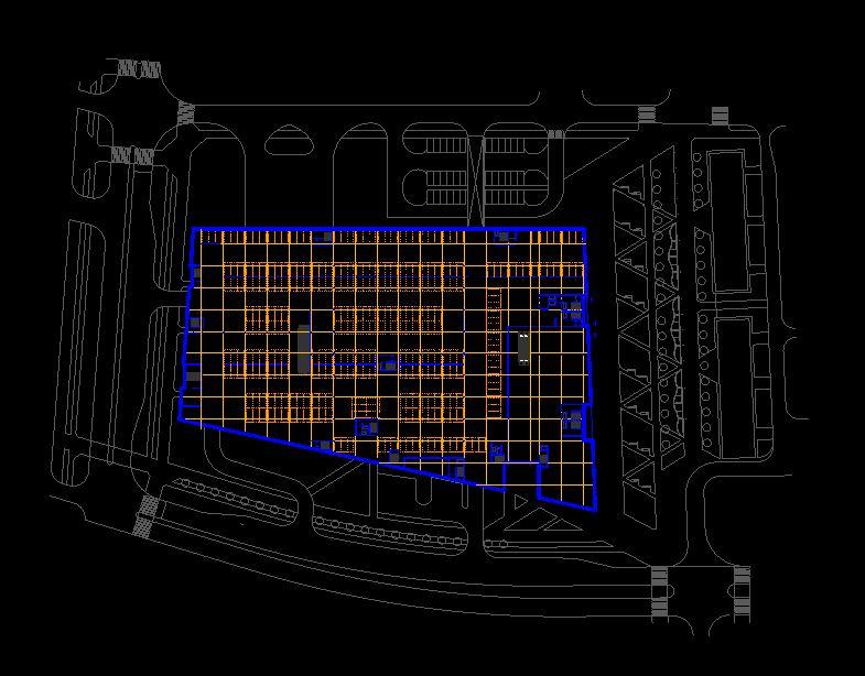 دانلود پروژه طراحی نقشه و پلان پارکینگ عمومی ماشین (2)