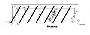 دانلود پروژه طراحی نقشه و پلان پارکینگ عمومی موتور سیکلت