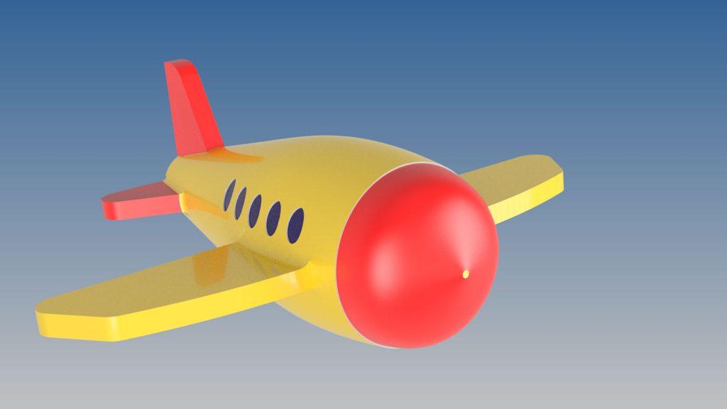 دانلود پروژه طراحی هواپیمای اسباب بازی