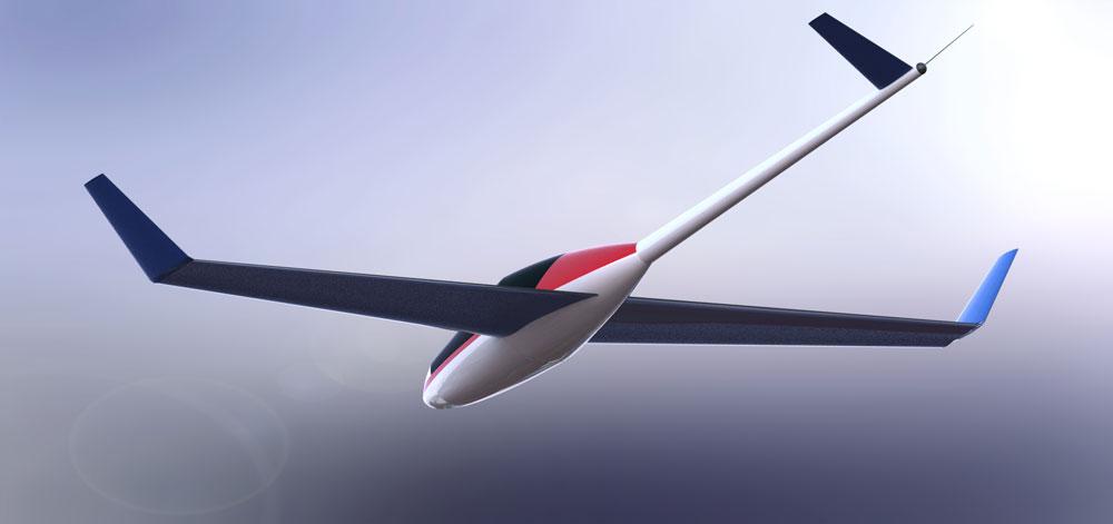 دانلود پروژه طراحی هواپیمای بدون موتور گلایدر (2)