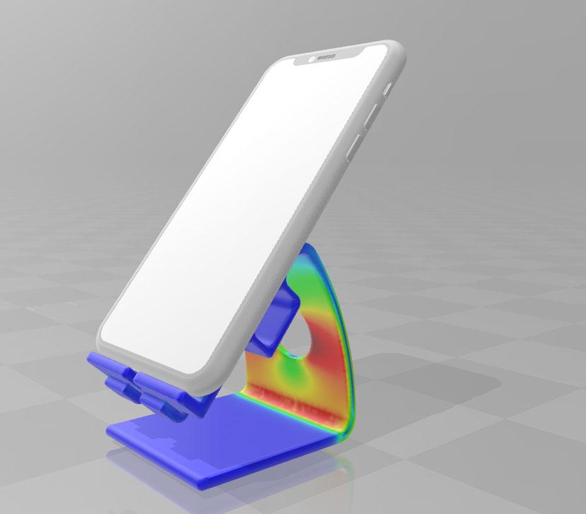 دانلود پروژه طراحی هولدر موبایل