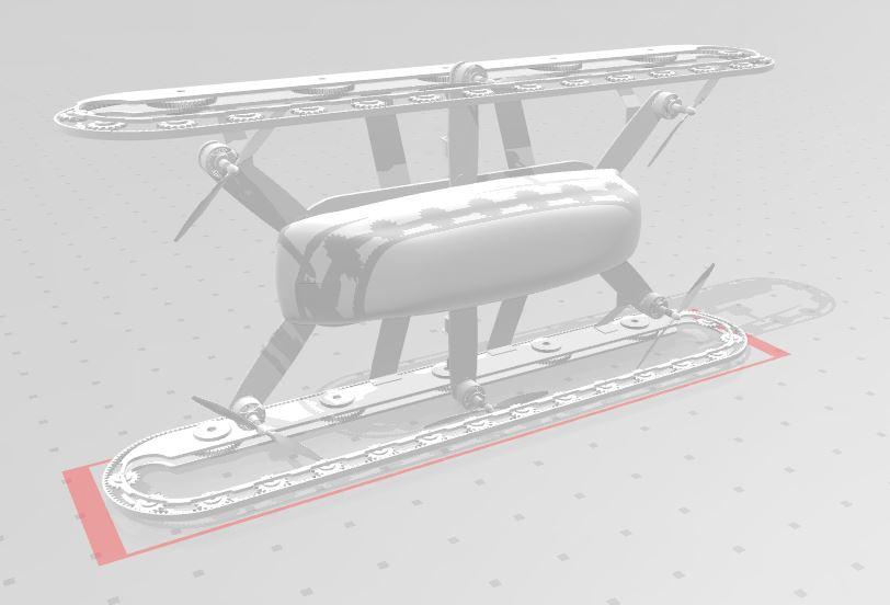 دانلود پروژه طراحی هگزاکوپتر Hexacopter
