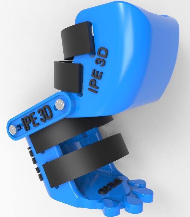 دانلود پروژه طراحی پروتز کفشی پا