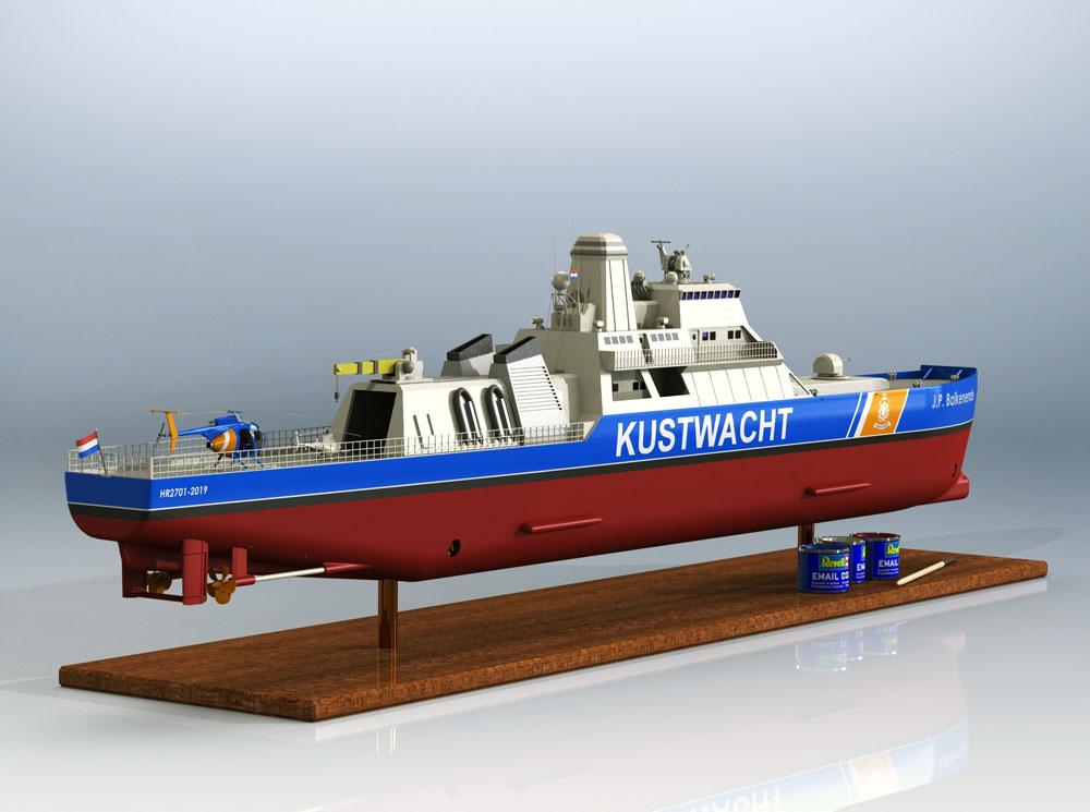 دانلود پروژه طراحی کشتی گارد ساحلی (2)