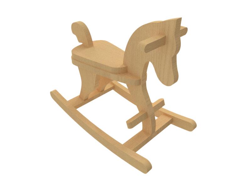 طراحی اسب گهواره ای / اسب متحرک اسباب بازی / راکر کودک
