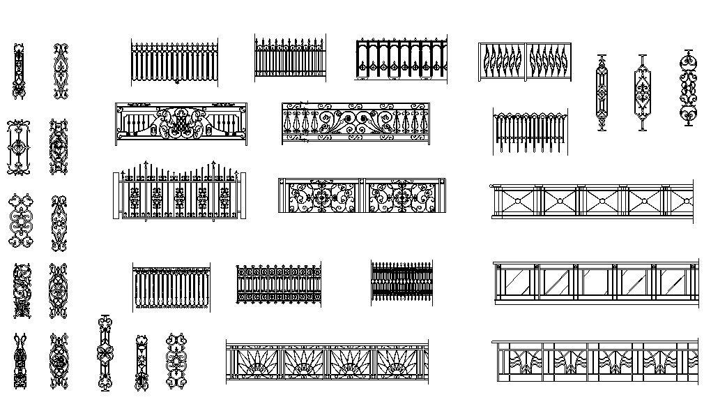 دانلود پروژه طراحی انواع محصولات فرفورژه (گلنرده)