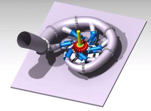 دانلود پروژه طراحی توربین هیدرولیکی پلتون
