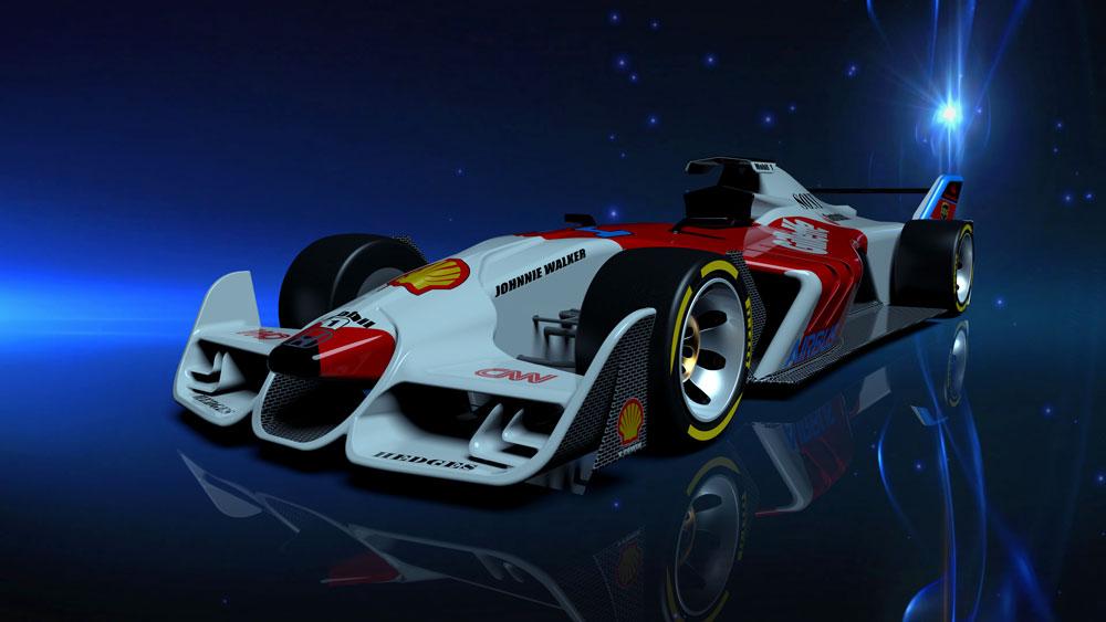 دانلود پروژه طراحی خودرو مسابقه فرمول یک (3)
