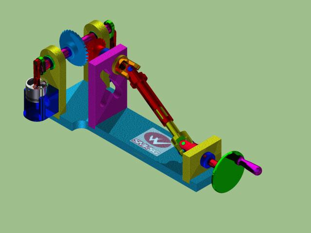 دانلود پروژه طراحی سیستم گاردان و دیفرانسیل خودرو