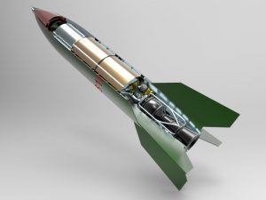 دانلود پروژه طراحی موشک بالستیک V-2
