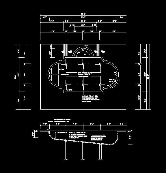 دانلود پروژه طراحی نقشه و پلان استخر (3)