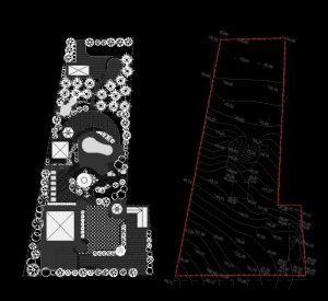 دانلود پروژه طراحی نقشه و پلان باغ