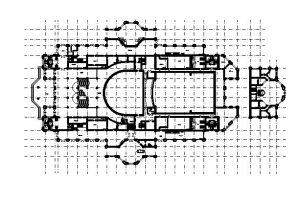 دانلود پروژه طراحی نقشه و پلان سالن کنسرت و تئاتر و سینما (3)