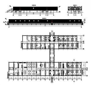 دانلود پروژه طراحی نقشه و پلان شهرک مسکونی پیش ساخته (مجتمع کانکسی)