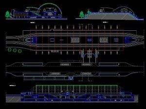 دانلود پروژه طراحی نقشه و پلان مترو