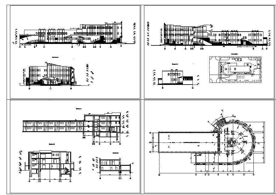 دانلود پروژه طراحی نقشه و پلان مرکز خرید مدرن (مجتمع تجاری - پاساژ - مال) 2
