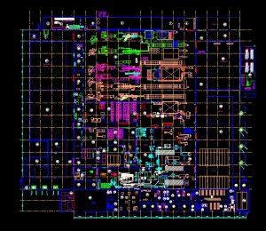 دانلود پروژه طراحی نقشه و پلان مزرعه صنعتی پرورش ماهی
