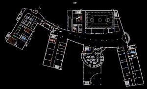 دانلود پروژه طراحی نقشه و پلان مهدکودک مدرن بزرگ و مدرن + (2)