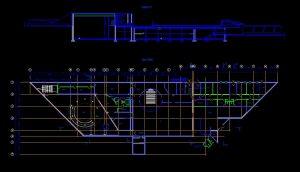 دانلود پروژه طراحی نقشه و پلان موزه