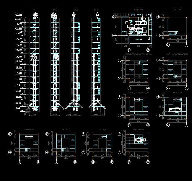دانلود پروژه طراحی نقشه و پلان کارخانه غلات خشک کن