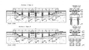 دانلود پروژه طراحی نقشه پل ستونی (بتنی , سیمانی )