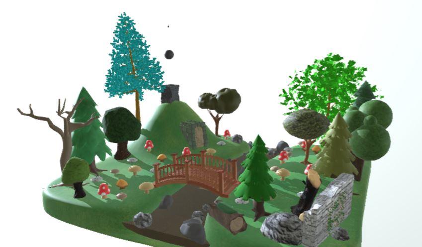 دانلود پروژه طراحی پارک جنگلی فانتزی