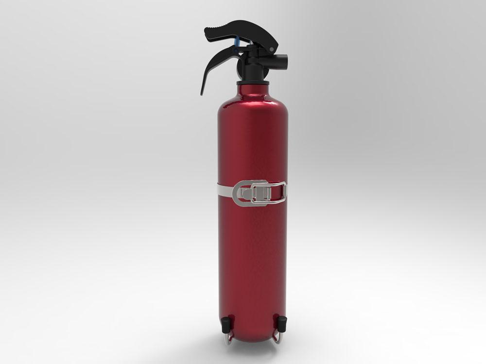 دانلود پروژه طراحی کپسول آتش نشانی
